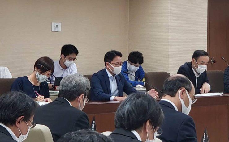 新型コロナウイルス感染症対策特別委員会が開催