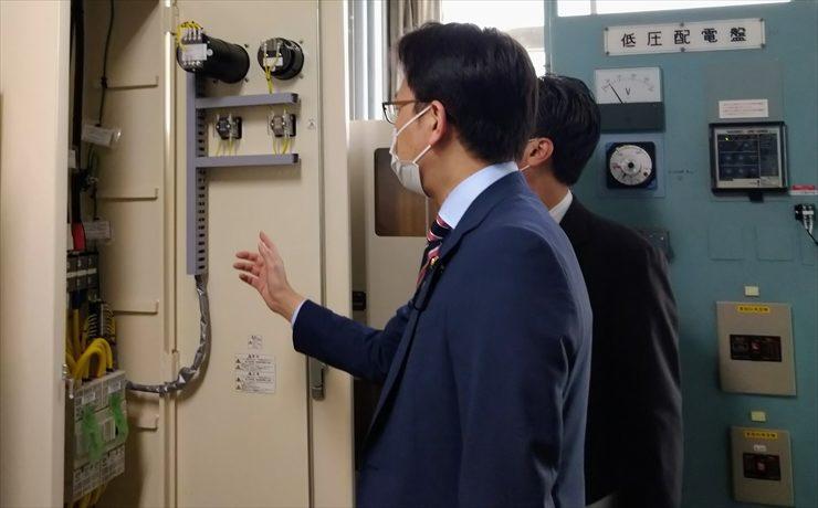 川越工業高校、川越高校、坂戸高校、所沢商業高校を視察